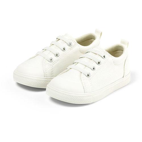 棉質彈性鞋帶休閒鞋-童