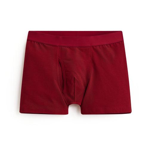 Pima 棉質平口內褲-男