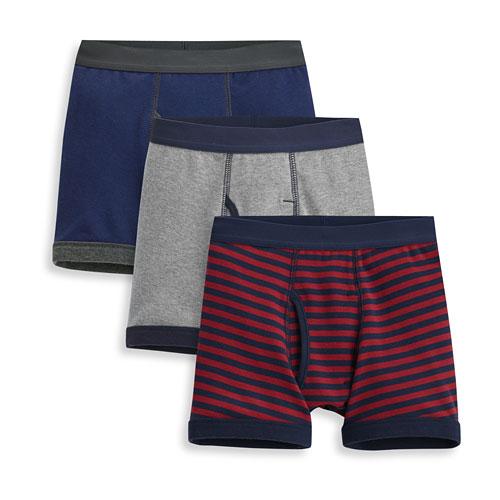 羅紋內褲(3入)-男童