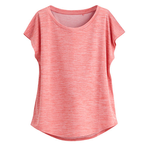 吸排寬版T恤-女