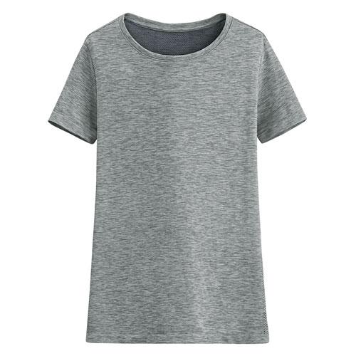 吸排無側縫圓領T恤-女