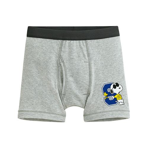 史努比羅紋內褲-男童
