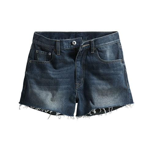 牛仔短褲-女