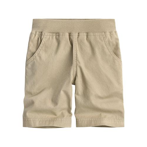羅紋緊帶短褲-童