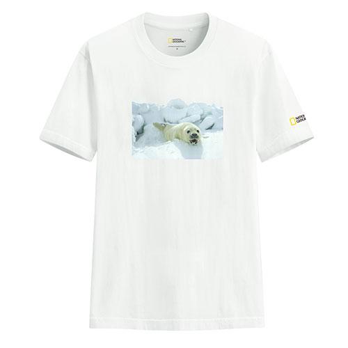 國家地理印花T恤-06-男