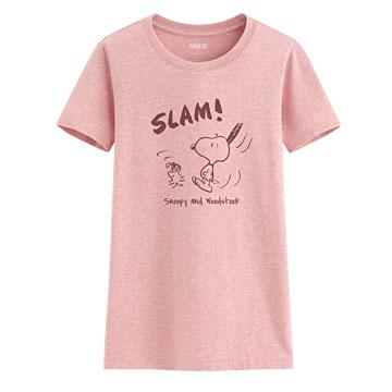 史努比印花T恤-13-女