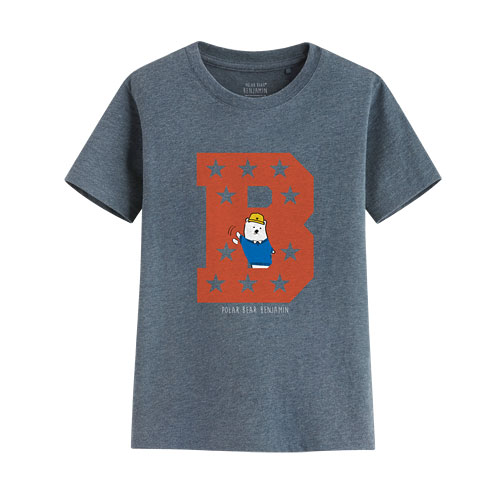 Polar Bear Benjamin印花T恤-08-童