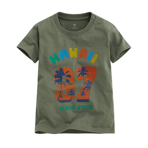 衝浪吧印花T恤-Baby