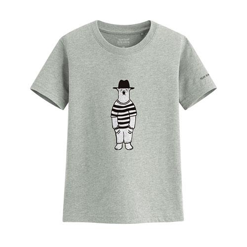 Polar Bear Benjamin印花T恤-03-童