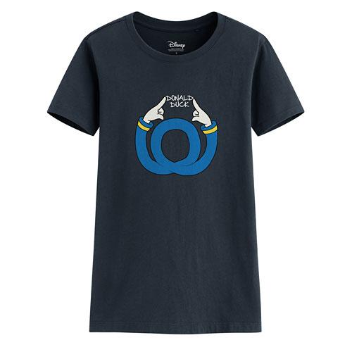 迪士尼系列印花T恤-80-女