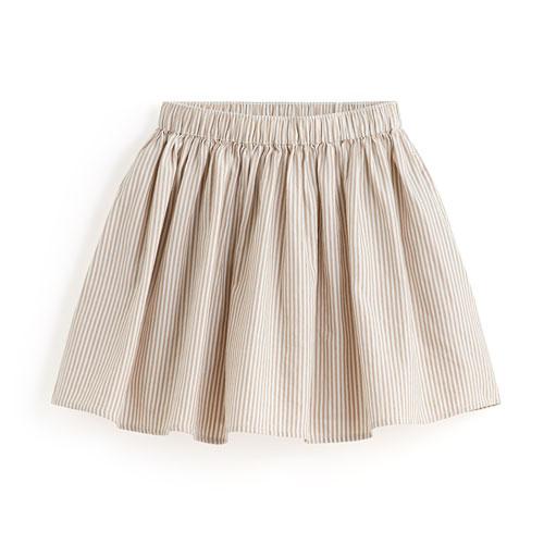 純棉直紋短裙-童
