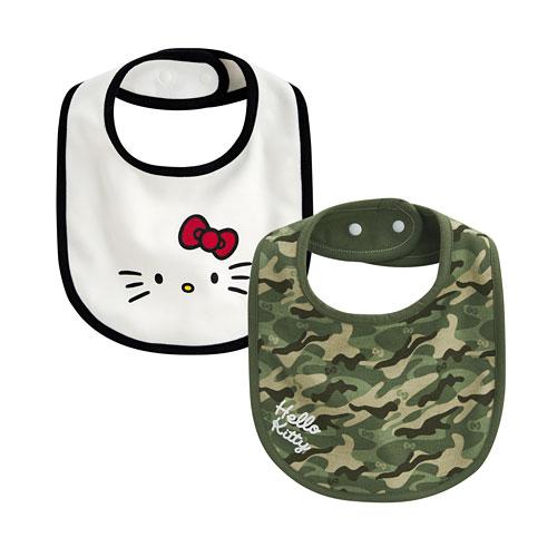 Hello Kitty口水巾(2入)-Baby