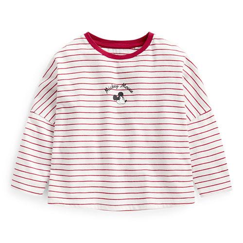 迪士尼系列寬鬆竹節棉T恤-童