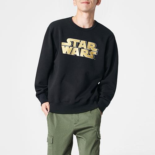 STAR WARS系列刷毛圓領衫-02-男