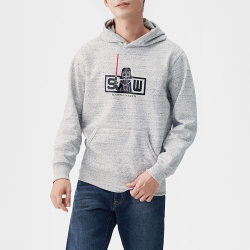 STAR WARS系列刷毛連帽衫-男