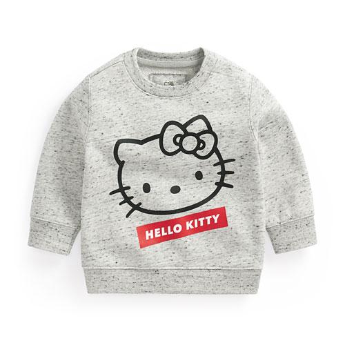 Hello Kitty毛圈圓領衫-Baby
