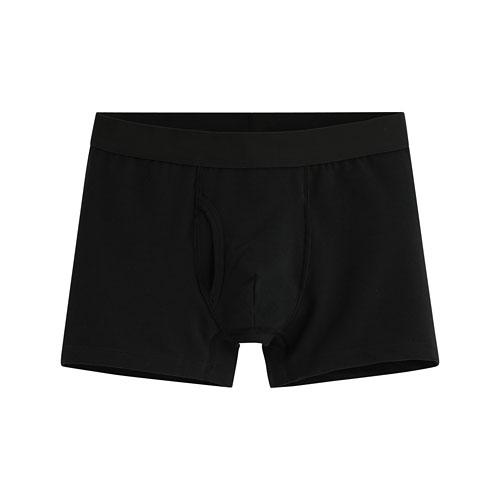 棉質平口內褲-男