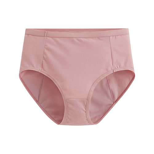 棉質中腰生理褲-女