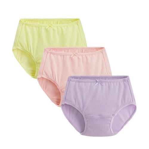 羅紋內褲(3入)-童