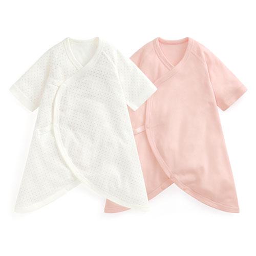羅紋印花蝴蝶衣(2入)-Baby