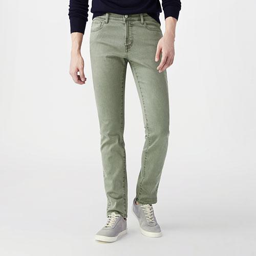 多色Skinny Fit窄管牛仔褲-男
