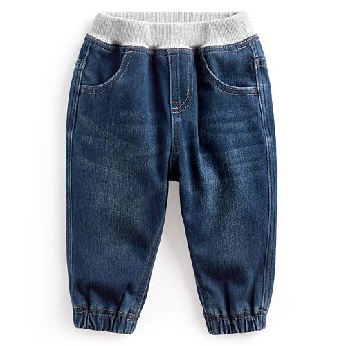 牛仔束口褲-Baby