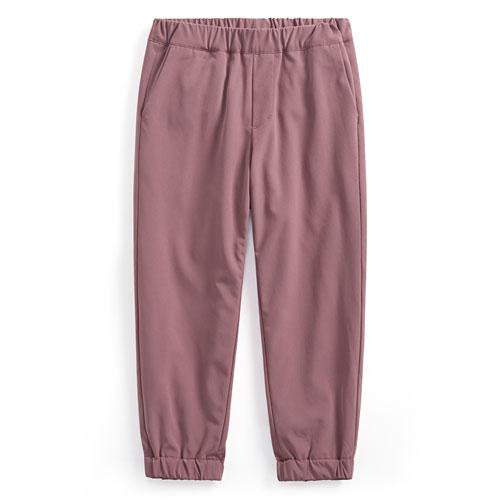 彈性保暖束口褲-童