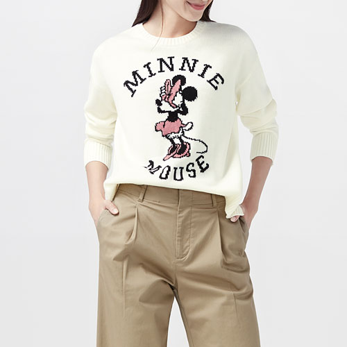 迪士尼系列提花針織衫-女