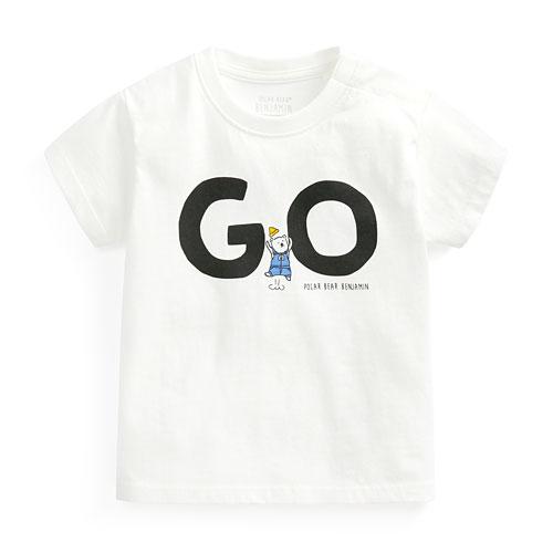 Polar Bear Benjamin印花T恤-01-Baby