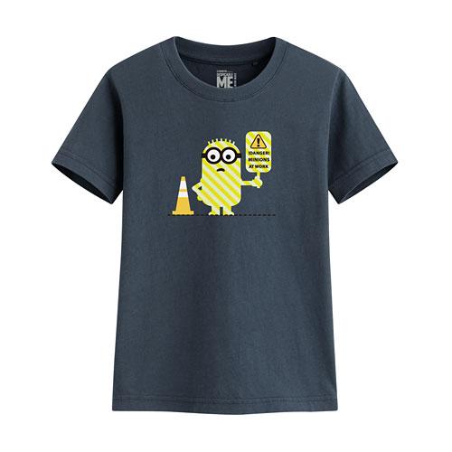 Despicable Me印花T恤-03-童