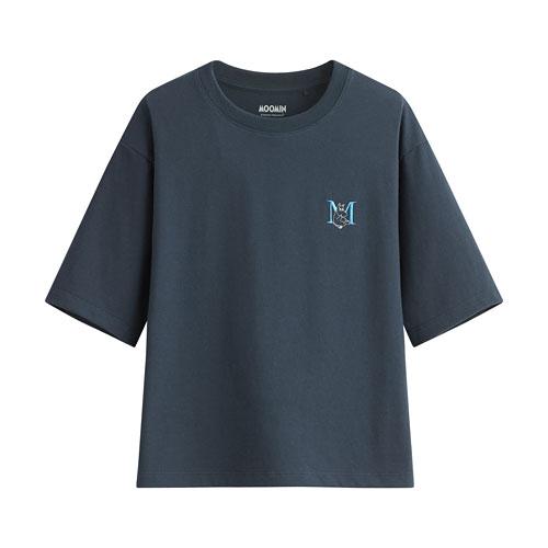 Moomin短版T恤-02-女