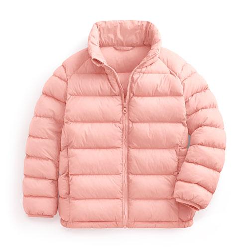 鋪棉立領外套-童