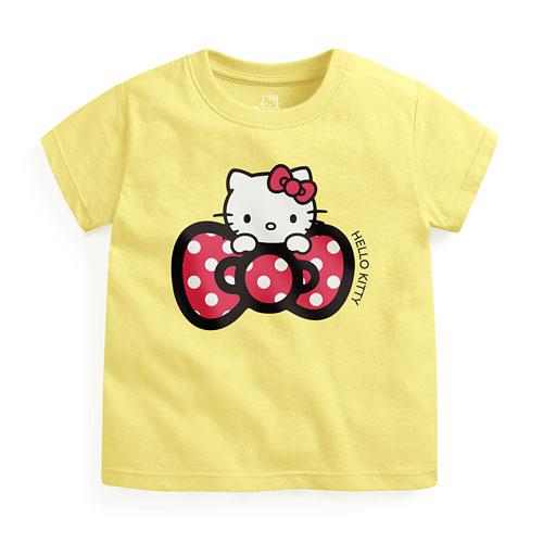 Hello Kitty印花T恤-04-Baby