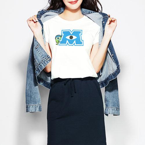 皮克斯系列印花T恤-01-女