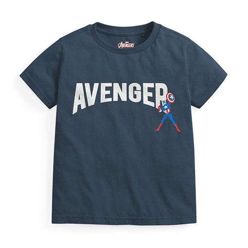漫威系列印花T恤-03-童