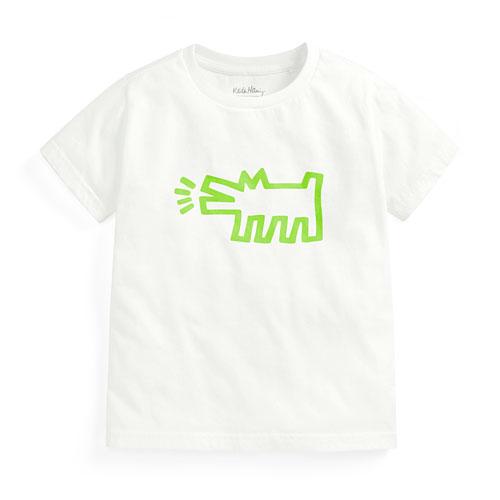 Keith Haring印花T恤-02-童