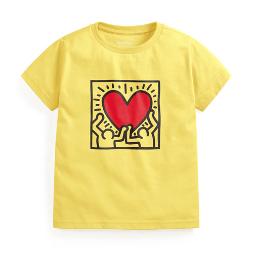 Keith Haring印花T恤-06-童