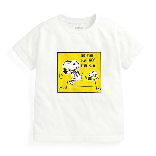 史努比印花T恤-22-童