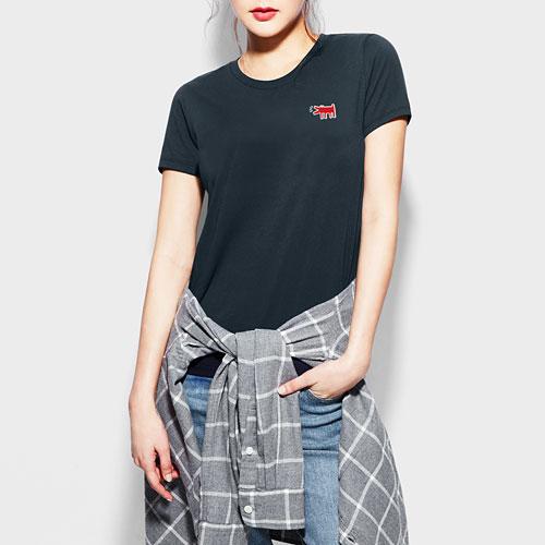 Keith Haring印花T恤-05-女