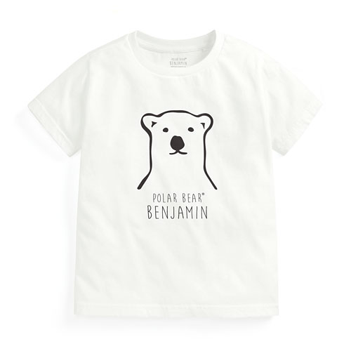 Polar Bear Benjamin印花T恤-02-童