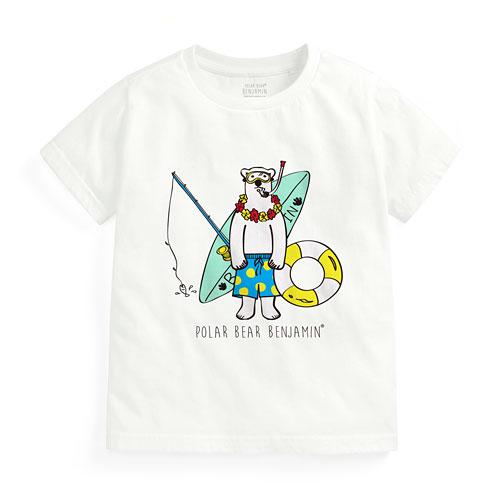 Polar Bear Benjamin印花T恤-04-童
