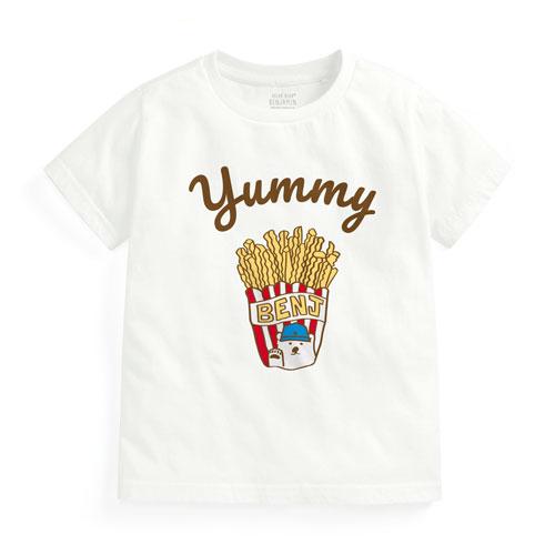 Polar Bear Benjamin印花T恤-05-童