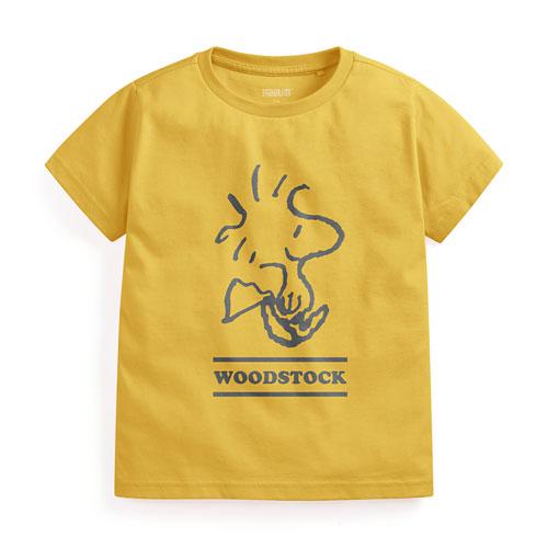 史努比印花T恤-08-童