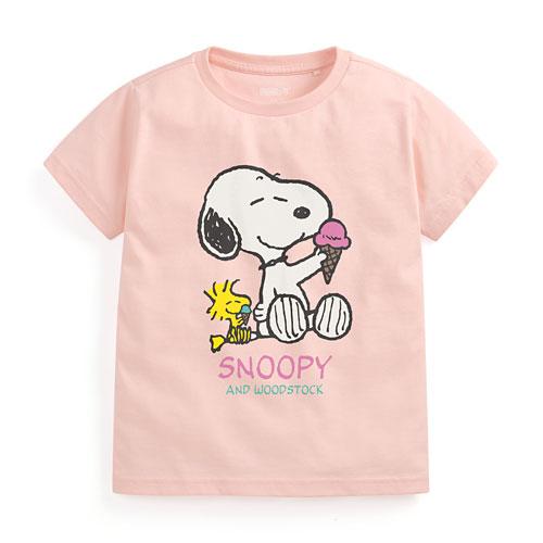 史努比印花T恤-09-童