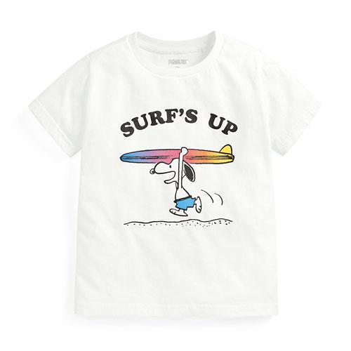 史努比印花T恤-02-童