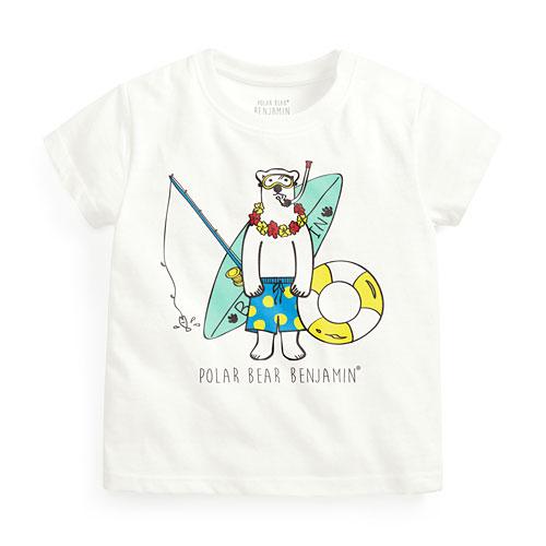 Polar Bear Benjamin印花T恤-04-Baby