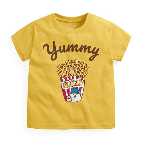 Polar Bear Benjamin印花T恤-05-Baby