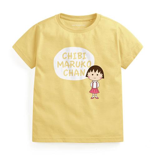 櫻桃小丸子印花T恤-01-童