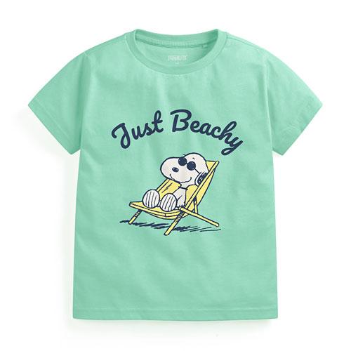 史努比印花T恤-05-童