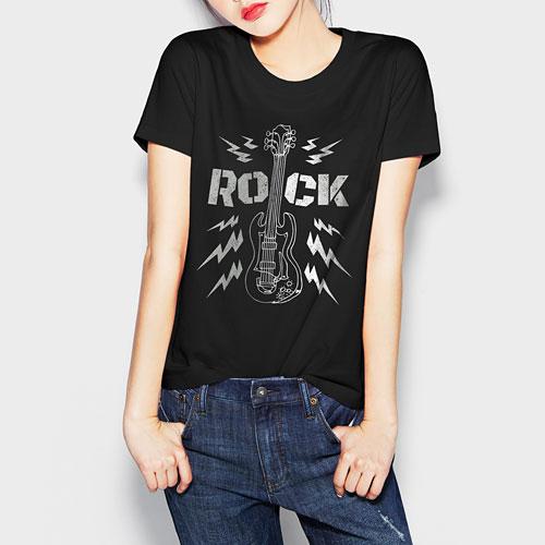 Hallmark印花T恤-04-女